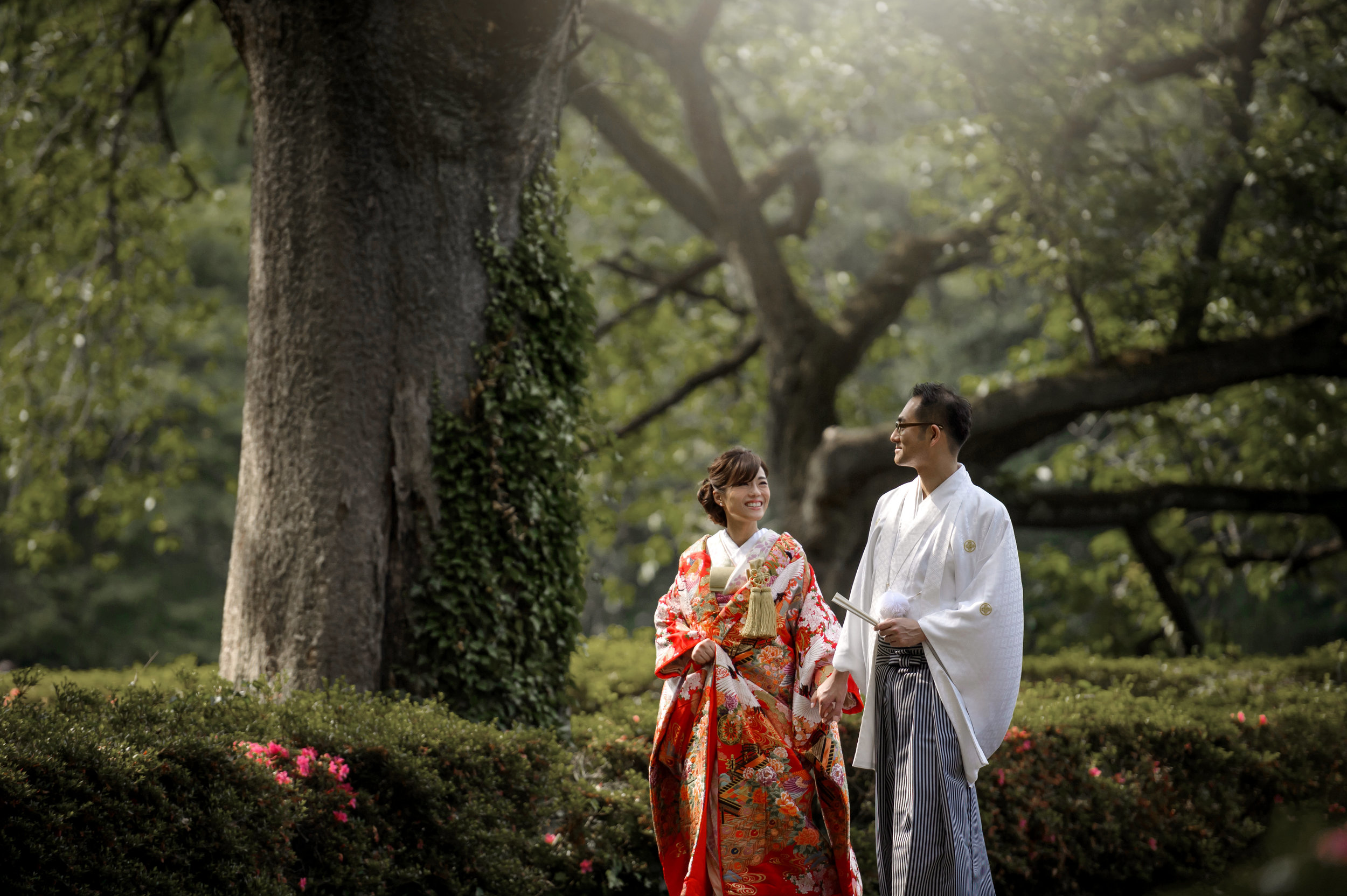 Kimono Elopement in Japan