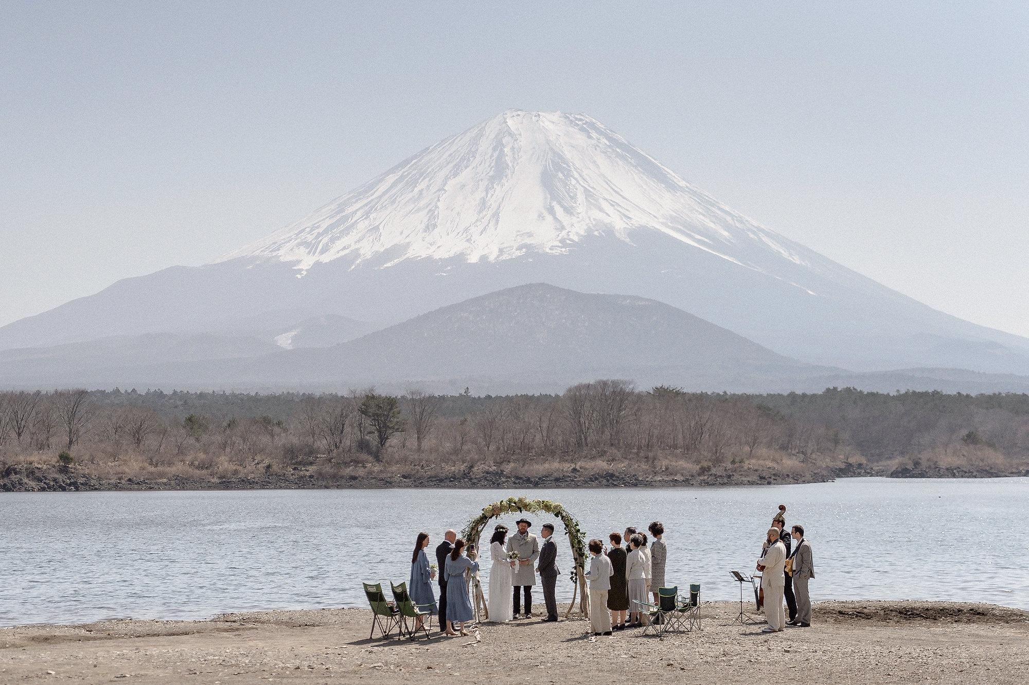 Mt Fuji Wedding Ceremony