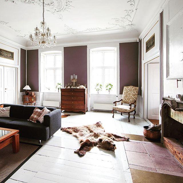 #margård #margårdgods #margaard #danskeherregårde #herregård #interiør #interior #pejsestue