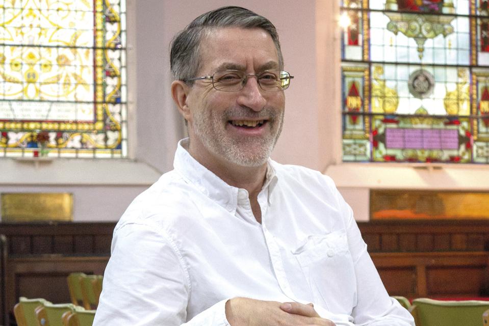 Jef Jones - Jef Jones has been Lay Pastor at Brighton Unitarian Church since 2010. His interests include poetry, science and prayer. Originally from the north east, his most sacred place, apart from Brighton Unitarian Church, is the far end of the west pier at Whitby.