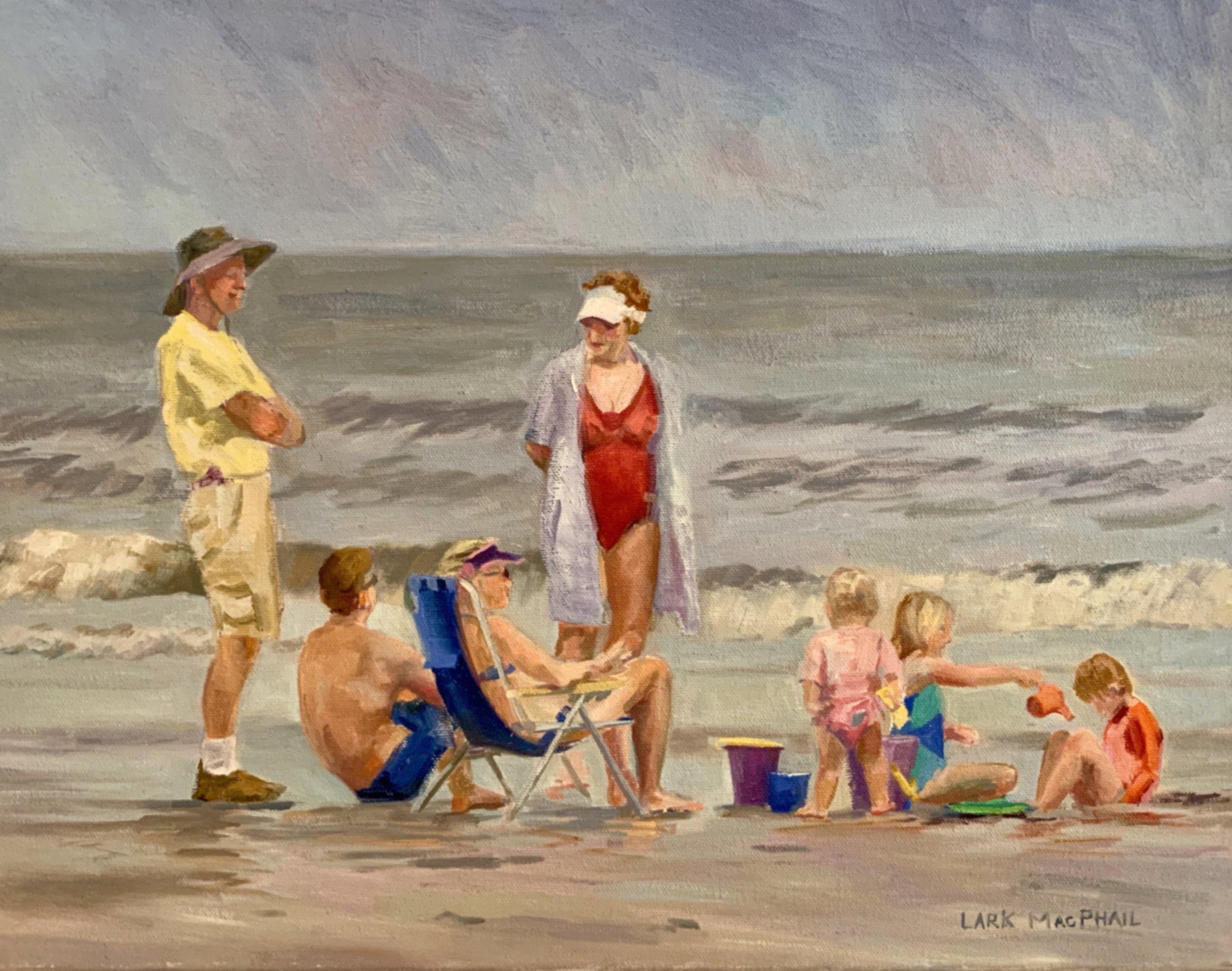 Family Vacation 14 x 18