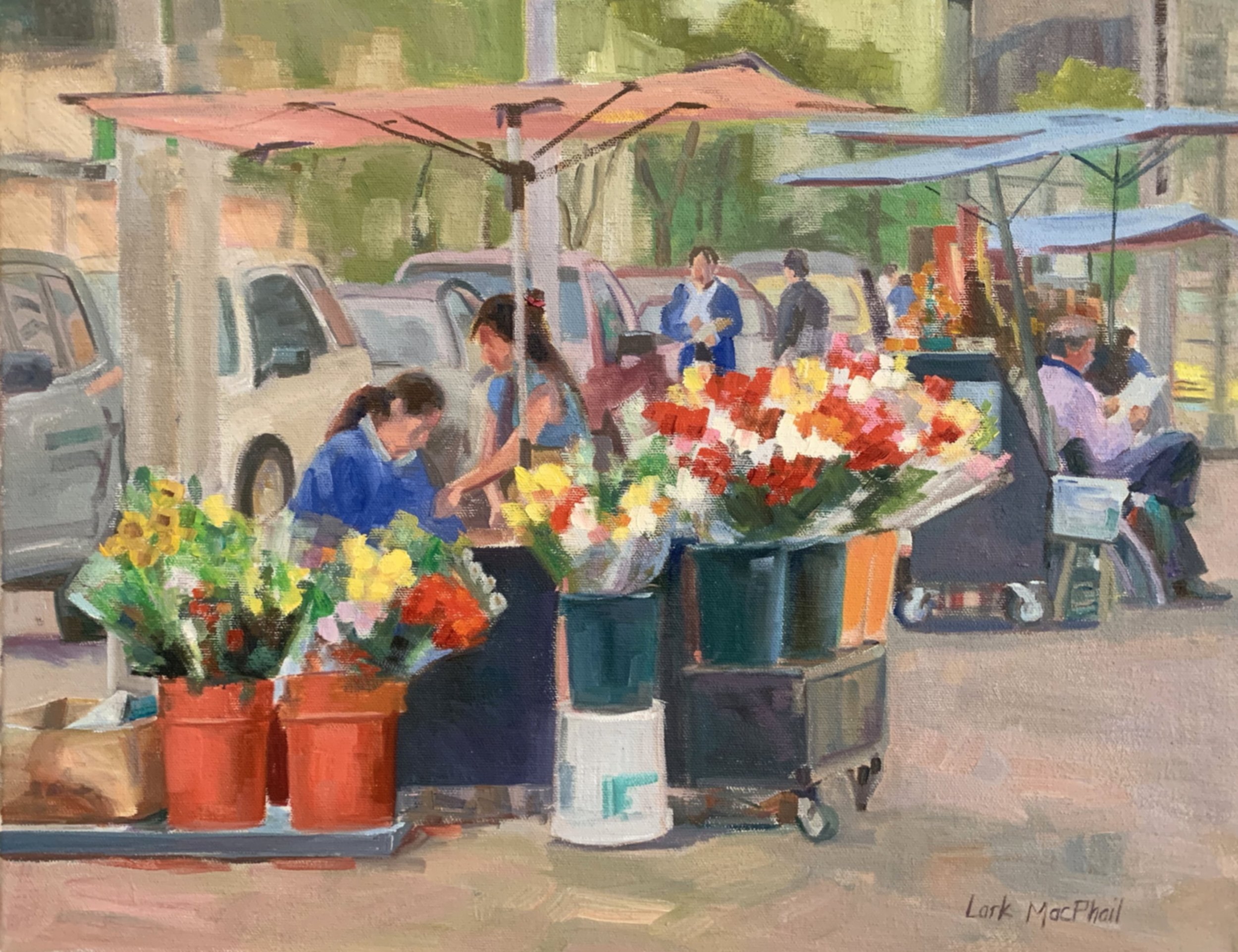 Flowers for Sale 14 x 18