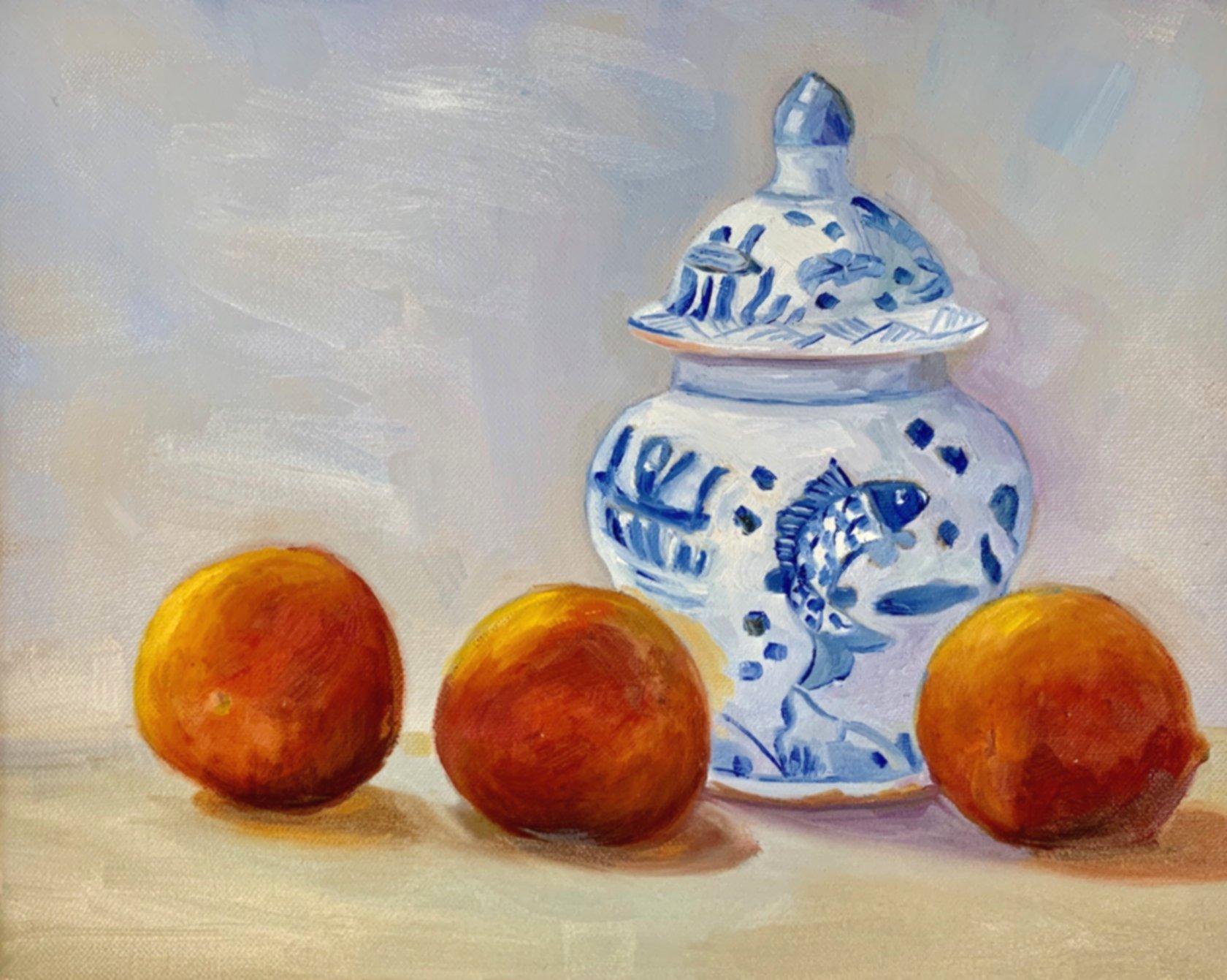 Peaches and Cream 11 x 14