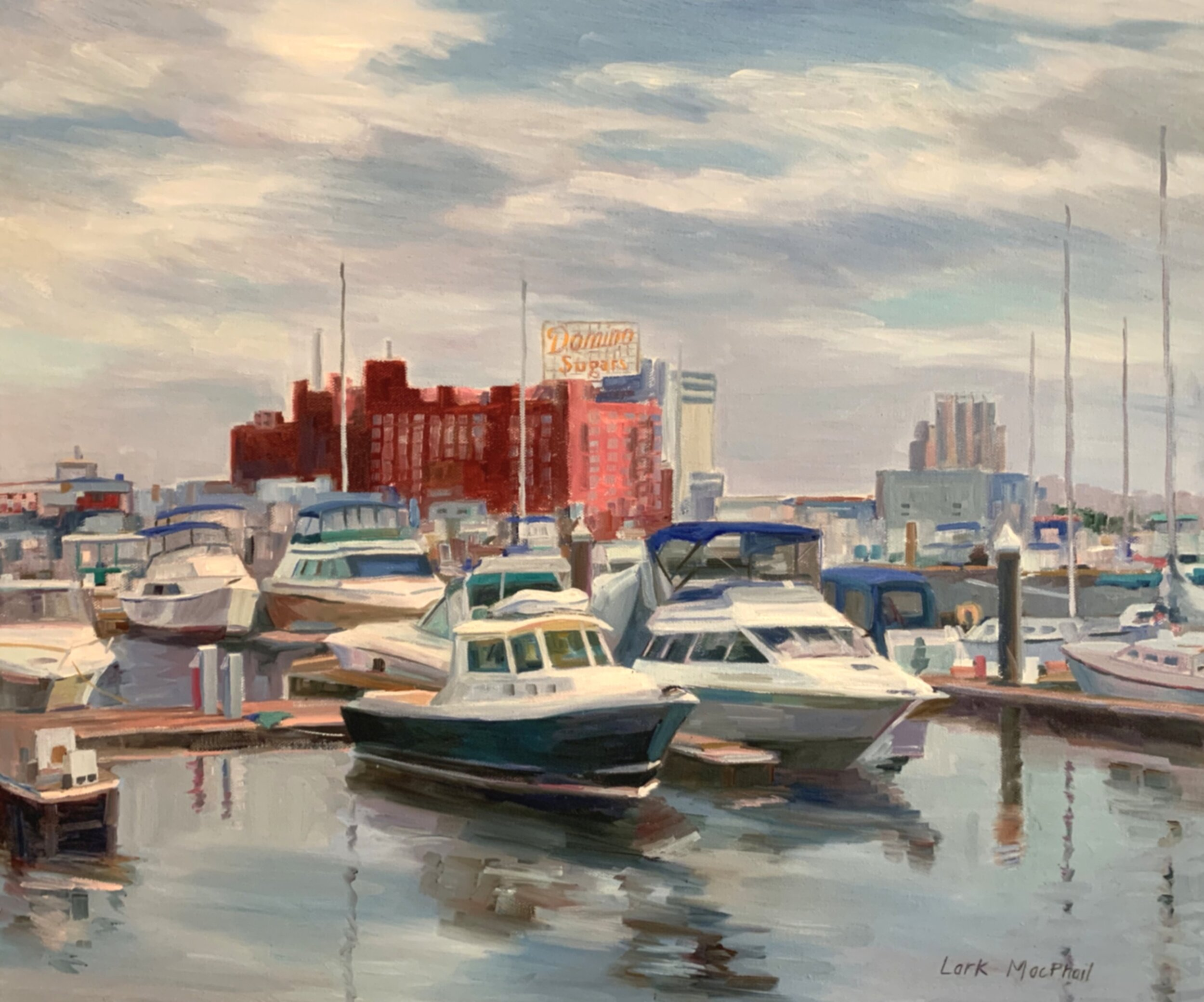 At the Dock 20 x 24