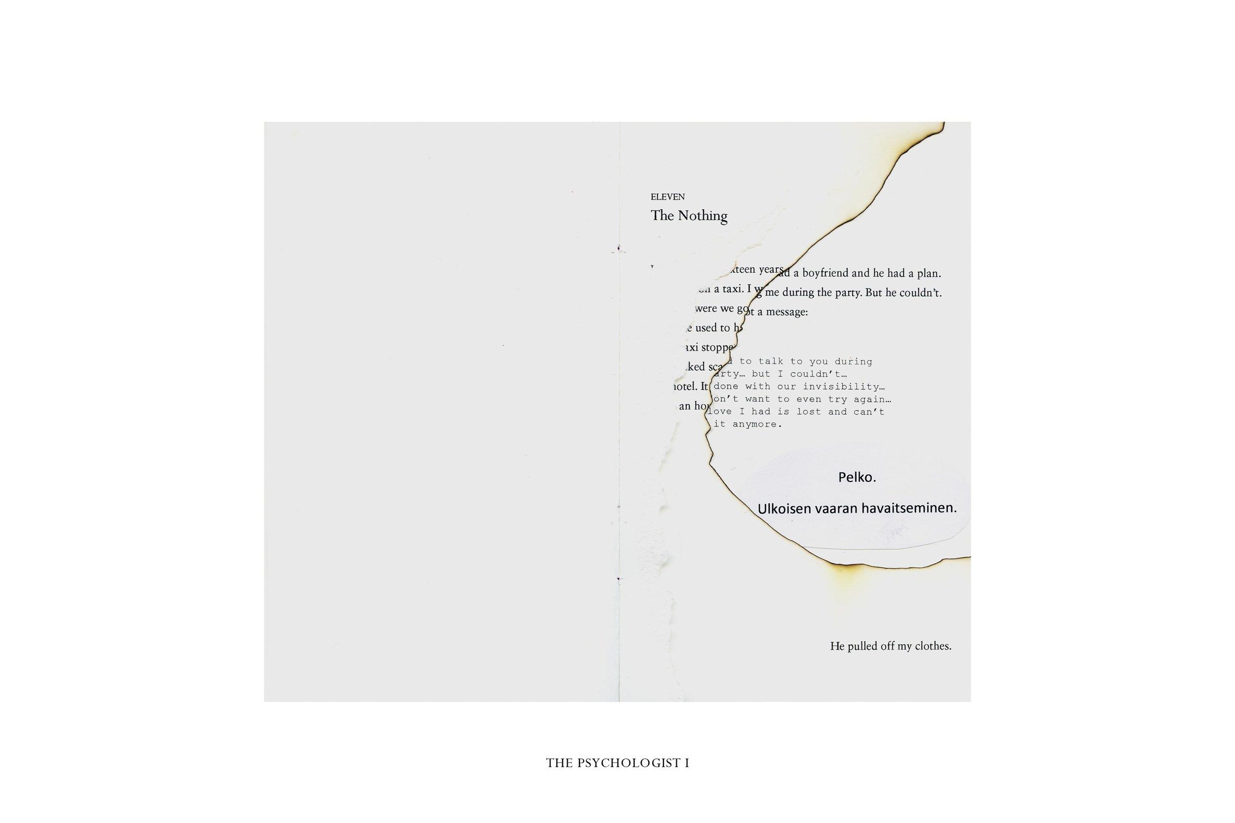 Eleven. The Psychologist I Pigment print 29,7 x 21 cm