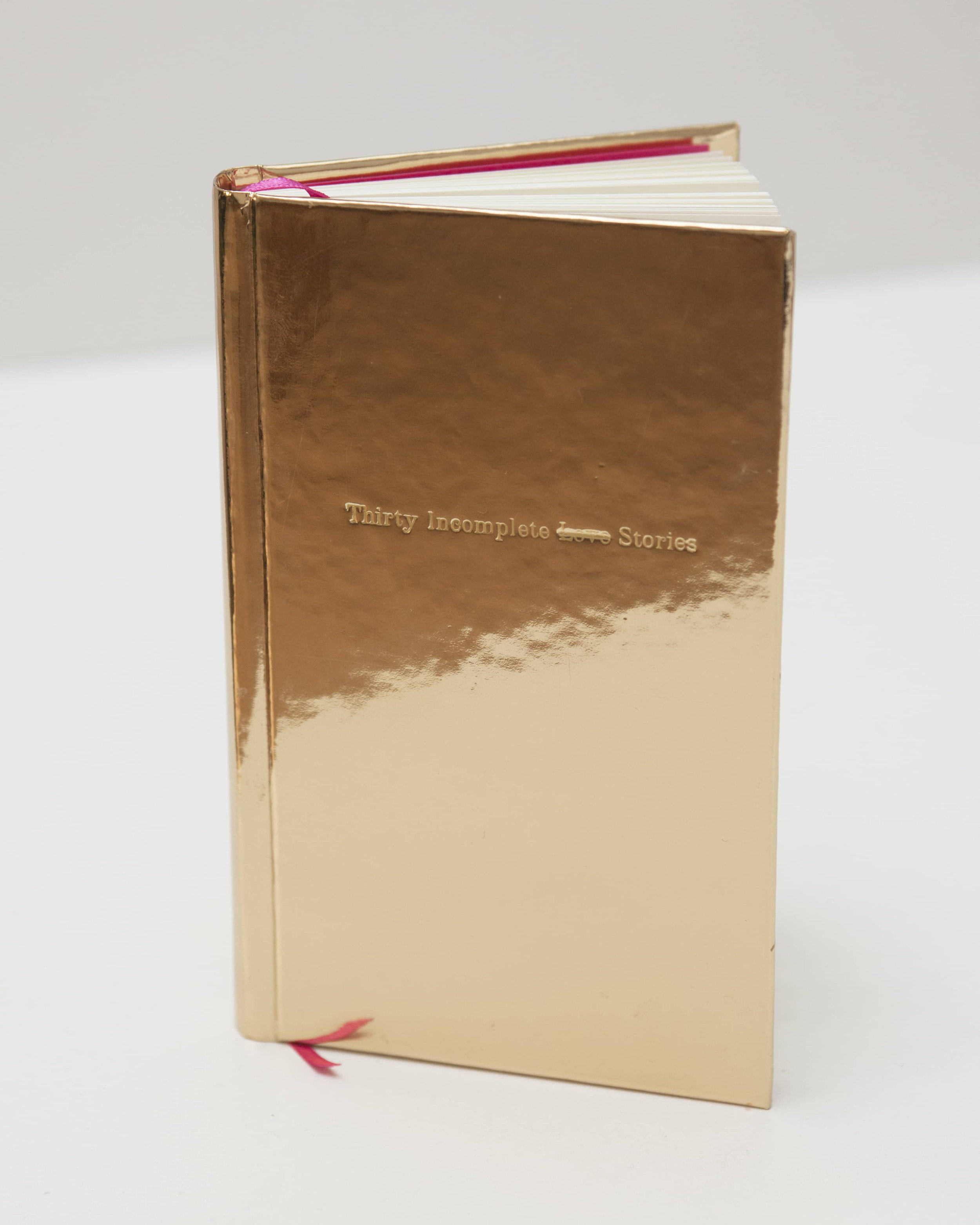 Thirty Incomplete Love Stories, 2018 Artist's book 10 x 16 cm.
