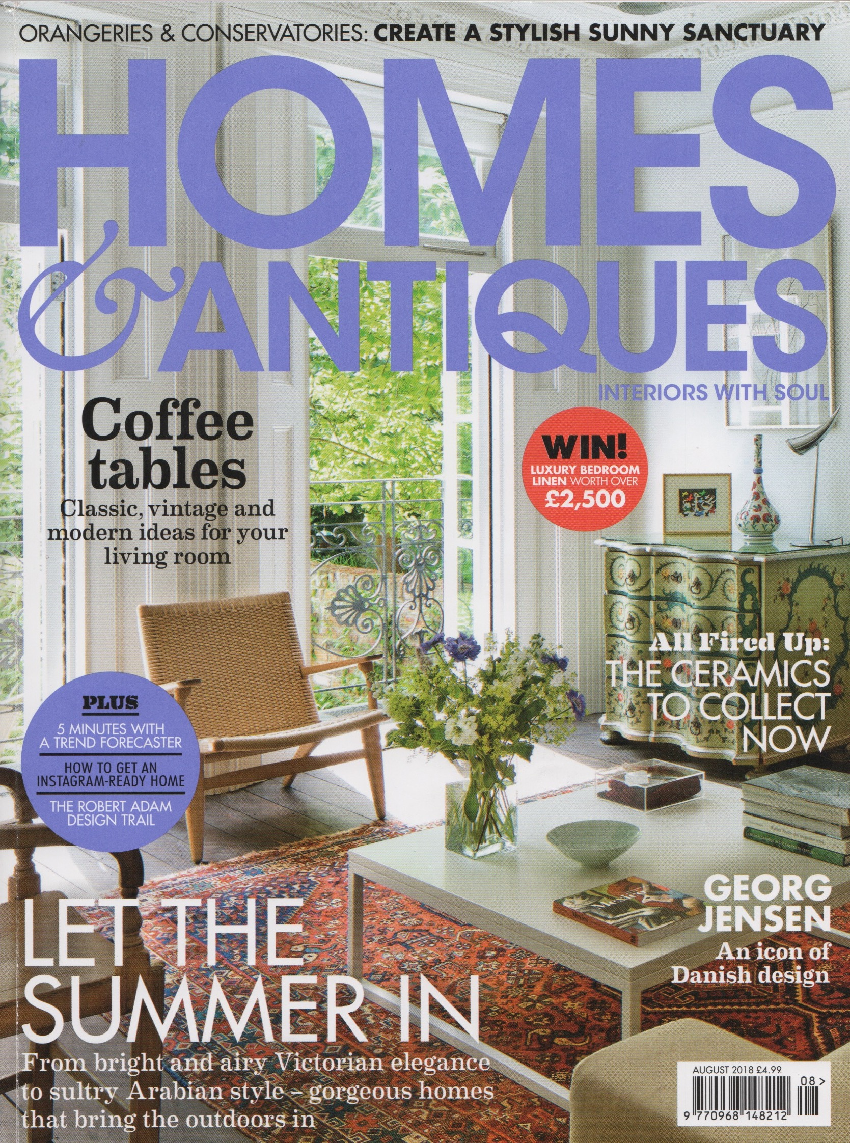 Home & Antiques, August 2018