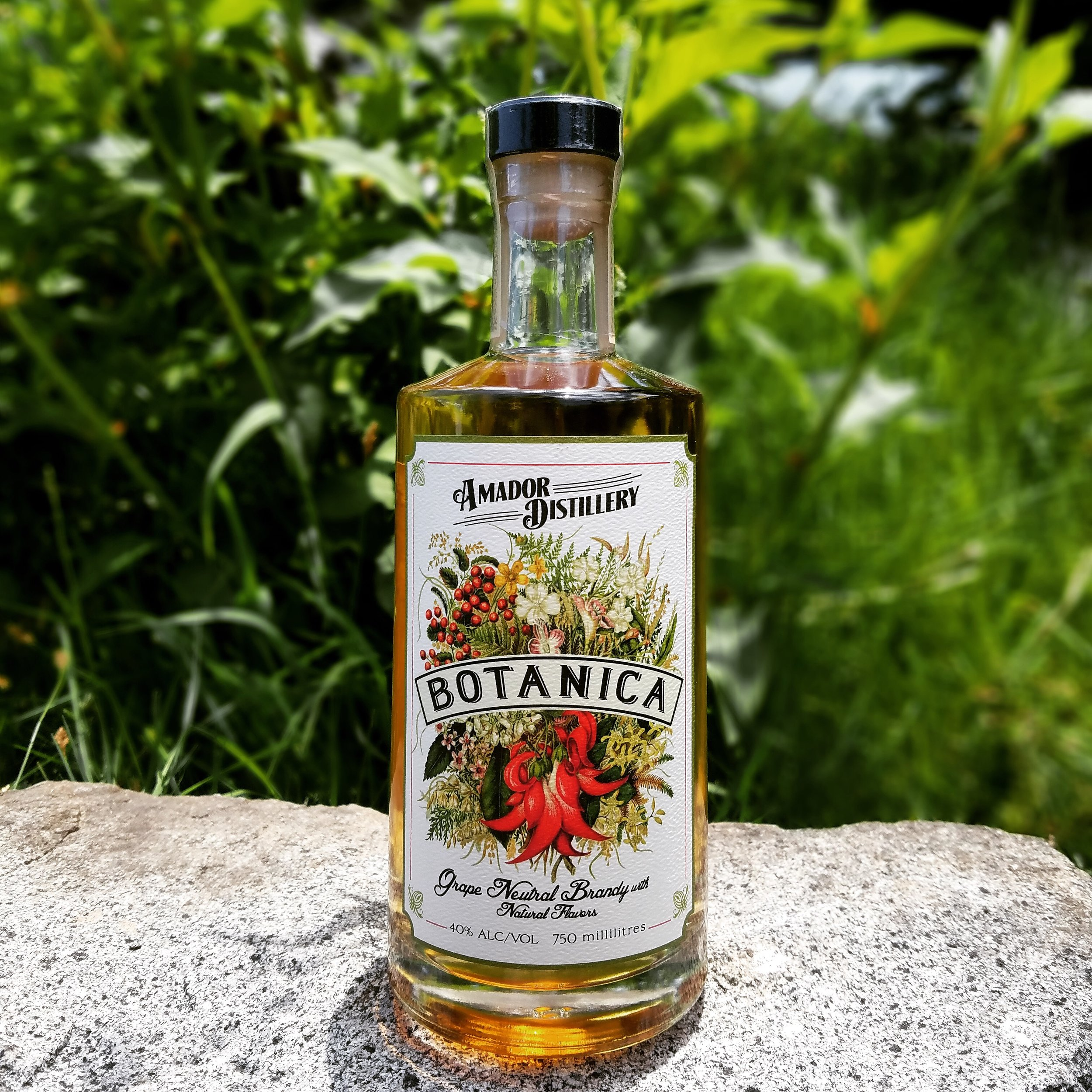 Botanica - This product grew out of our tasting room that was located in Sutter Creek. We could only sell brandy products, so we developed a