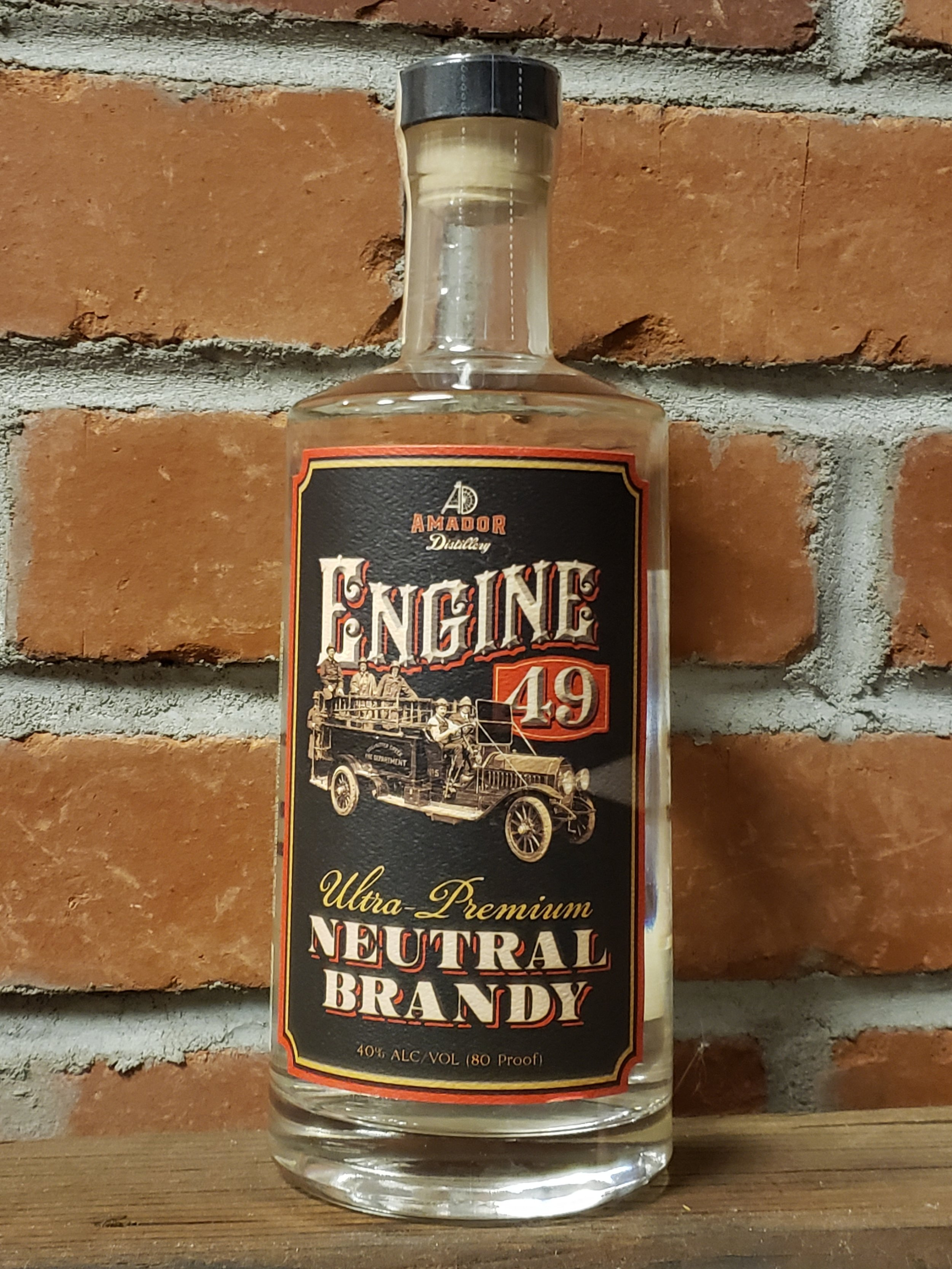 Neutral Brandy - Neutral Brandy follows the path of a vodka style spirit without filtering and made from wine. The big difference of Neutral Brandy is the more intense flavors that vodka lacks. This spirit is best used in a cocktail with high acidic fruits, such as grapefruit or cranberry, for an easy, yet complex cocktail.80 PF