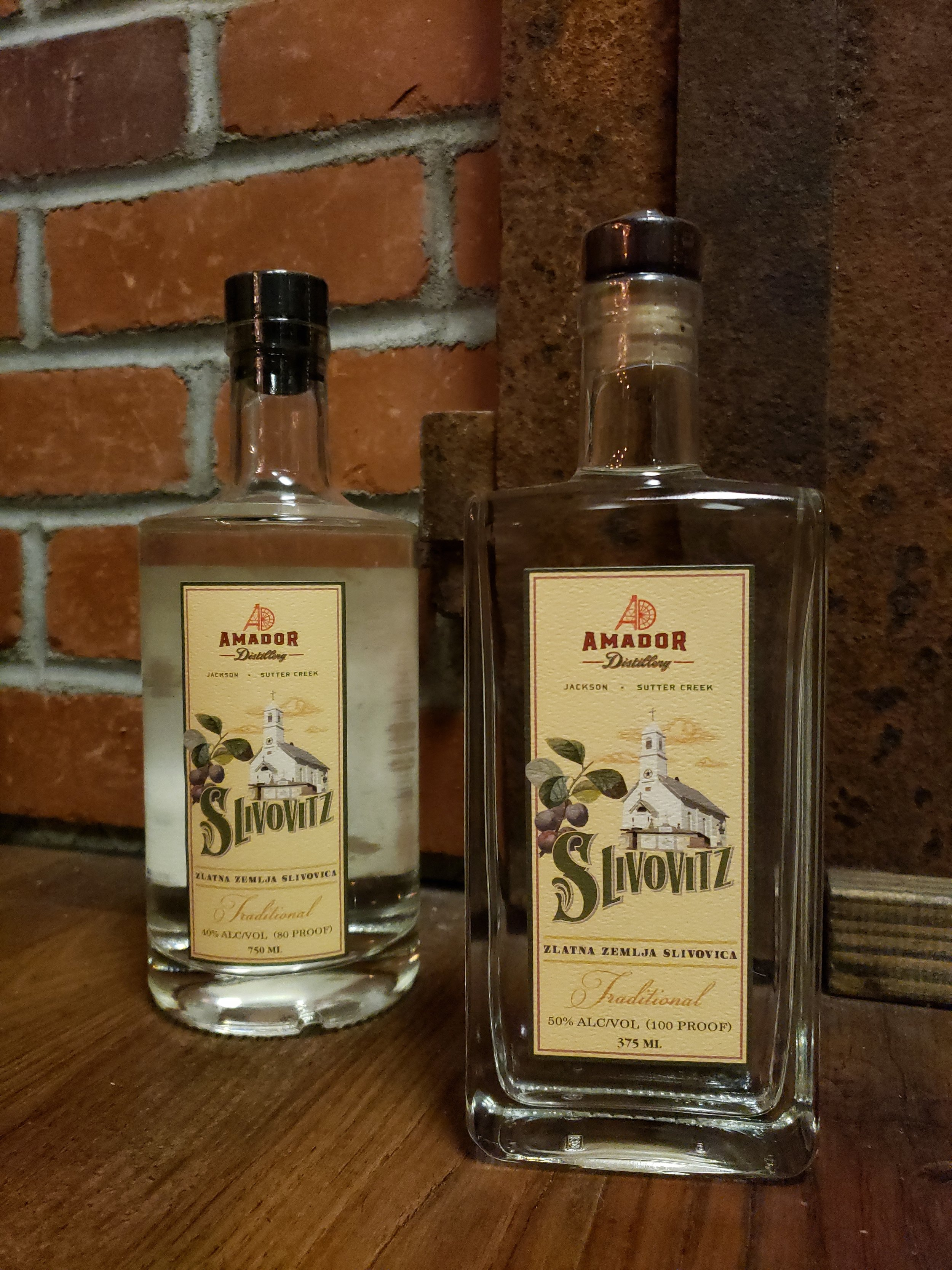 Slivovitz - This cultural spirit comes from the Serb-Croatian community. We make this for the St Sava Church community in Jackson, California and are proud of the heritage involved.This is a plum brandy that combines a complex array of flavors that can be enjoyed neat or over ice. While a potent spirit style, the traditional approach is clean and tight with the plum coming in late in the mouth.This is a seasonal product and limited production. We retain very few bottles for the tasting room as most go to the community for which it is made.80 & 100 PF