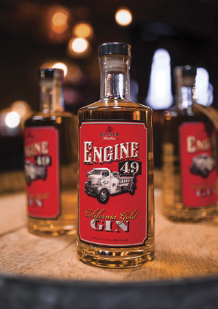 Engine 49 Golden Gin - This is a