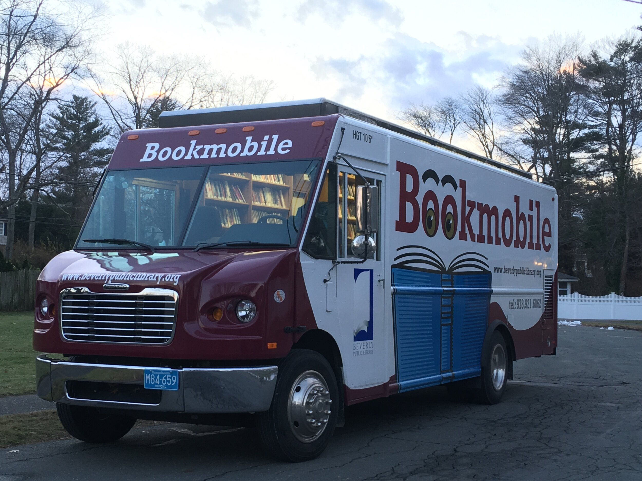 The Beverly Bookmobile