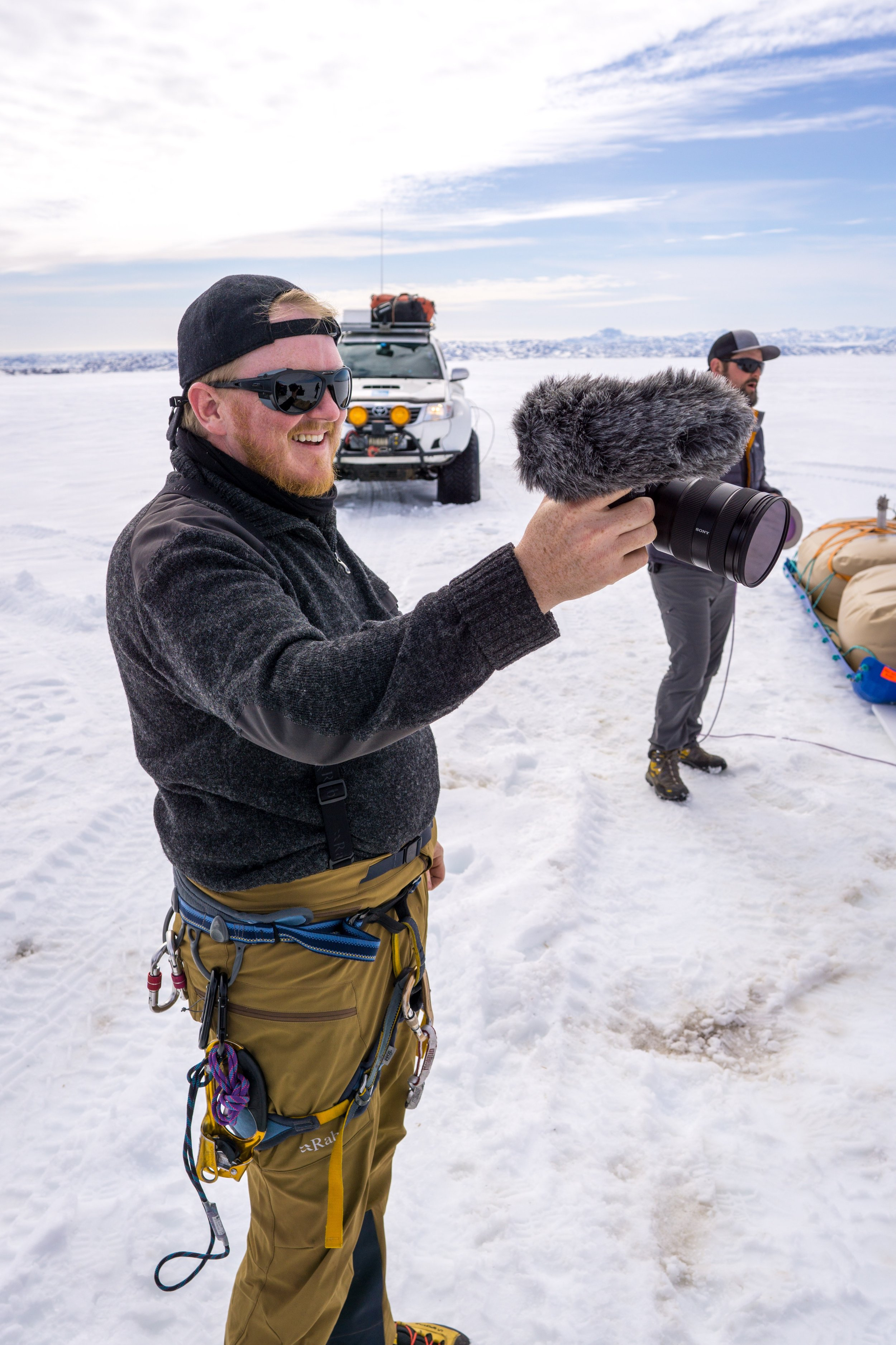 Clay Croft, Greenland 2018.  *Photo Credit Scott Brady