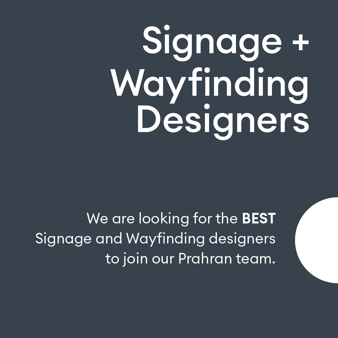 - Due to the increased workload of our clients, we are seeking skilled and flexible signage and wayfinding designers that can work with us on a freelance basis. You will be an integral member of our team on a flexible consulting basis, helping us in all aspects of design documentation, map refinement, wayfinding, floor plans and zone planning.What we are looking for:Experienced graphic design, urban planning, technology architecture or industrial design freelance professionalAbility to analyse a space and its users to create beautiful, functional and on brand wayfinding solutions in the built environmentBring both an eye for detail and an efficient base of time and project management skillsProficient in Adobe Creative Suite (InDesign, Illustrator, Photoshop)Have solid CAD modelling experience (Solidworks, AutoCAD, Rhino, Vray)Knowledge of SignAgent, CADtools, MAPublisher, or any other wayfinding software is highly regarded