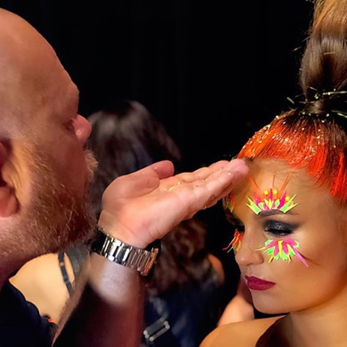 FASHION & BEAUTY   A unique makeover with star makeup artist Martin Bray