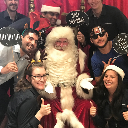 SEASONAL IDEAS   Get our FUNtimes Santa to your office for some festive cheer