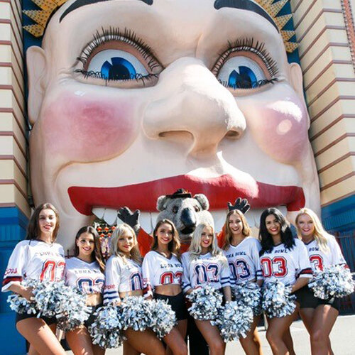 SUPER BOWL AT LUNA PARK SYDNEY - FEB 3RD, 2020   On Request   Join over a 100 million people in a live sporting event like no other, Super Bowl 54! And what better venue than Luna Park Sydney's famous Big Top. See all the touchdowns and interceptions live across multiple big screens while dining on a mouth-watering American all-you-can-eat buffet.