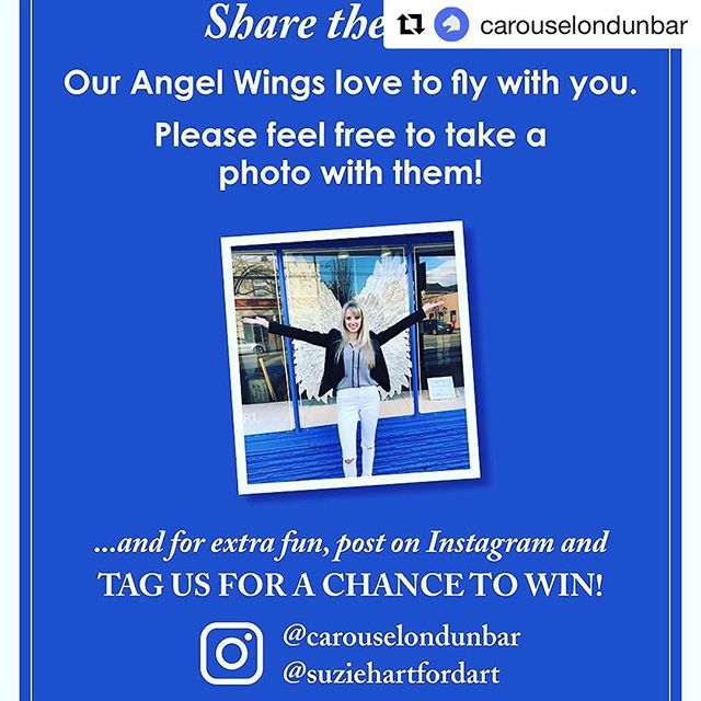 What a fun idea! Photo contest alert on Dunbar. #shopdunbar  #Repost @carouselondunbar with @get_repost ・・・ 🦋 PHOTO CONTEST 🦋 . . Sooooooooooooo, seriously.... this has been the cutest week ever, 🐭 and we did not see this coming, but everyone is taking photos with Suzie's Angel Wings!!! . . Huge Love. ❤️ . . To make this even more fun, we spoke with our neighbours and they are IN for some big prizes!! . . The Cheshire Cheese Inn The Dunbar Public House  Big Love Ball !! .  Please do come by, day or night, and if you feel the feels and wish to post, just tag us with Suzie's Wings to share the love 🌟 and maybe win a prize! . . We will draw on March 16th for those who tagged @carouselondunbar & @suziehartfordart . . Prizes include $100 gift certificates to @thecheeseinn and @thedunbarpublichouse plus three HUGE @bigloveball 's and more! . Come out and play. 😊 . #ourfirstcontest @dunbar_village @dunbarlifevan #vancouver #angels #angelwings #love