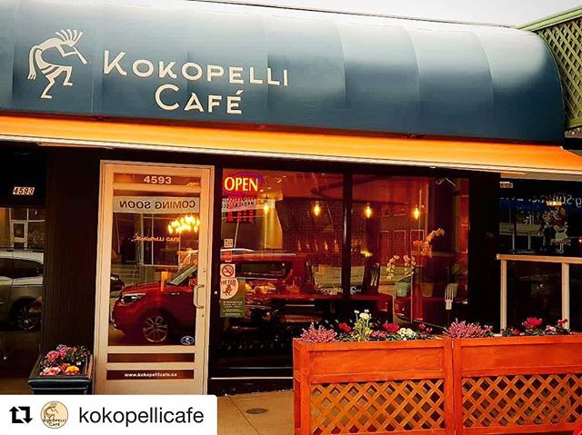 @kokopellicafe has a beautiful look in time for Spring! #shopdunbar  #Repost @kokopellicafe with @get_repost ・・・ Come check out our new look 🤗 now its even easier to spot us if you are driving down Dunbar ☕ #kokopellicafe #vancouvercoffeeshop #yummypastries #dunbarlife #cozycoffeeshop #kidsplayarea #shopdunbar #kokopelliscones