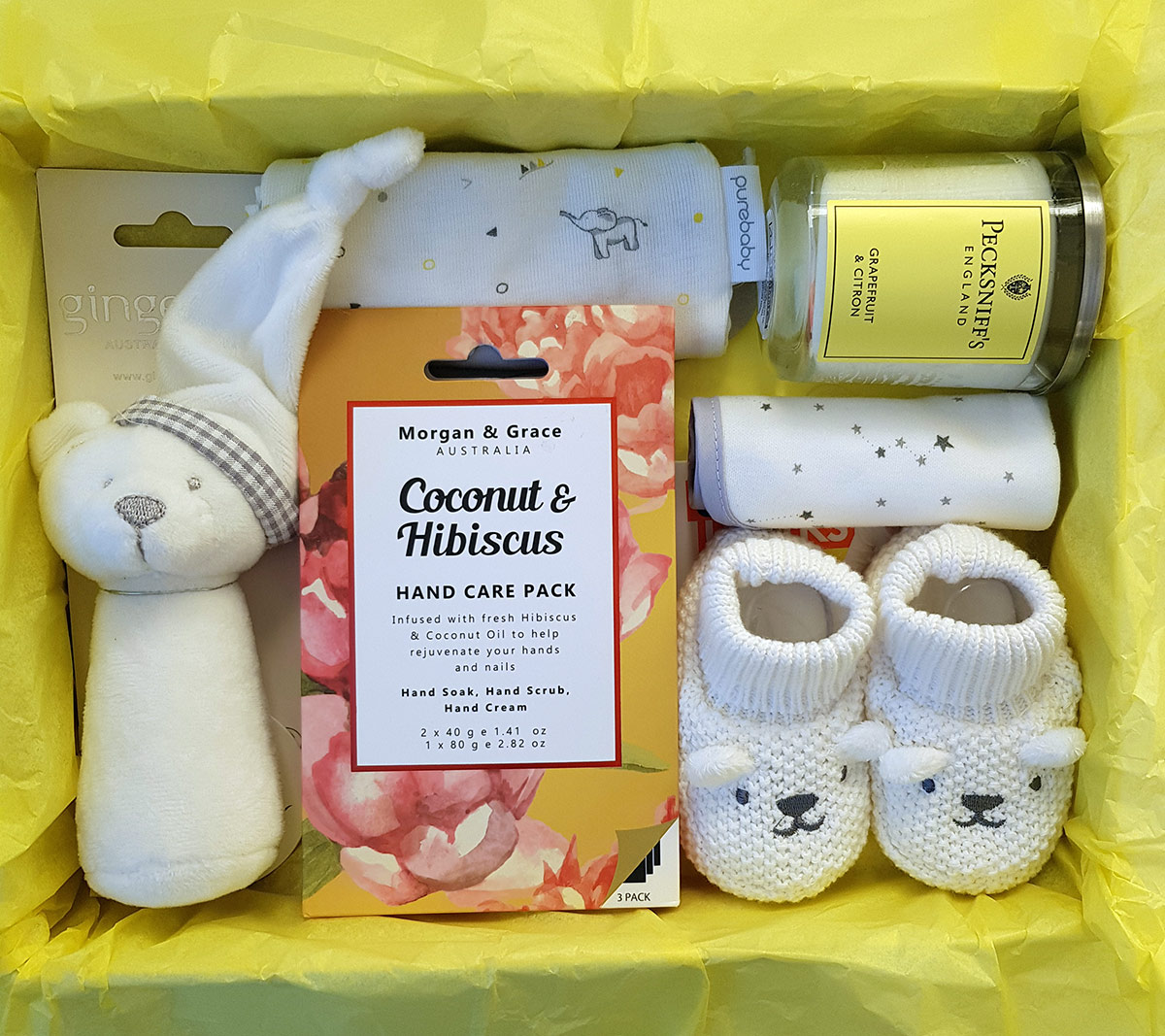 Mum and Baby Gift Box- Sunshine