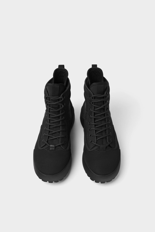 High-Top Trekking Sneakers / Rs 4,990