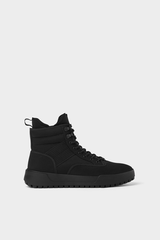 High-Top Trekking Sneakers / Rs 4990