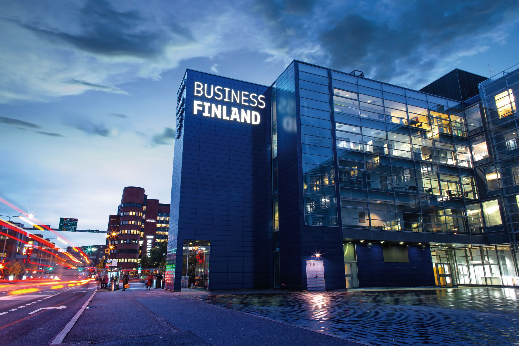 Business Finland is the Finnish government organization for innovation funding and trade, travel and investment promotion.