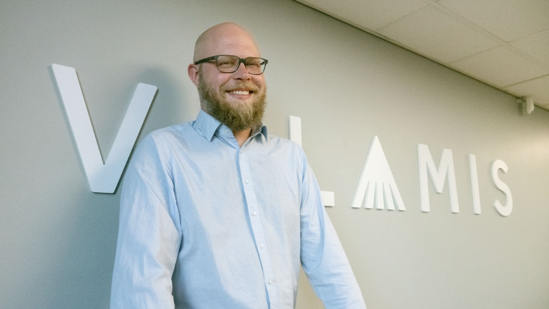 """Jussi Hurskainen, CEO, Valamis Group - """"""""We use Dear Lucy everyday. The info-screens at the office show the real-time situation and when people see a change, I immediately get questions on what has happened. I personally use Dear Lucy everyday to keep track of the metrics I like to follow."""