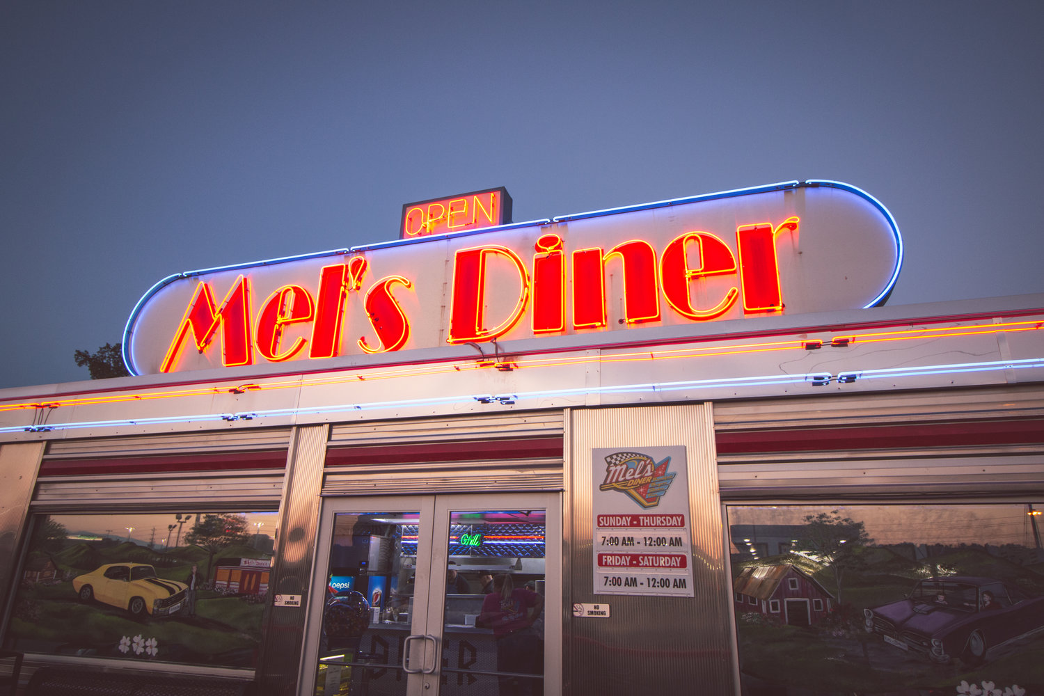 Image result for mel's classic diner in pigeon forge tennessee