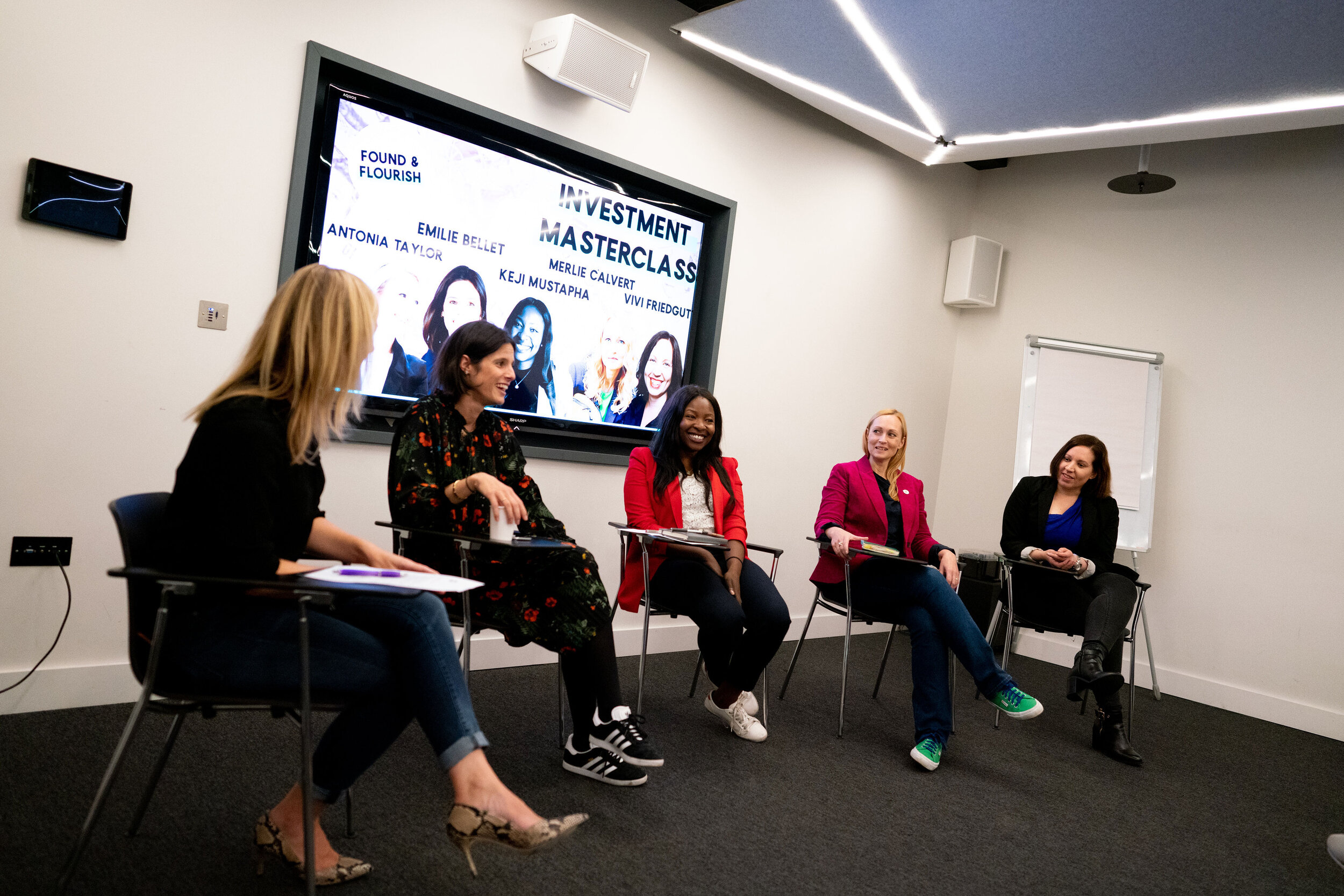 Investment Masterclass in London for women in business