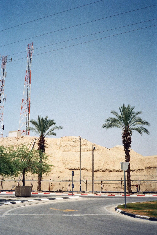 Fanny Duval, Le politique, Frontière Cisjordanie - Jordanie contrôlée par Israël, 2017