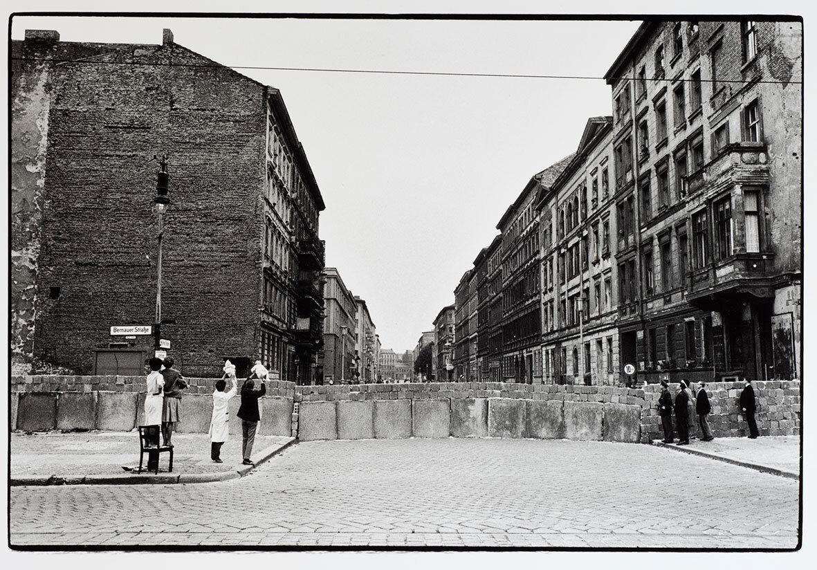 Will McBride, Die Berliner Mauer an der Bernauer Straße, 1961-62