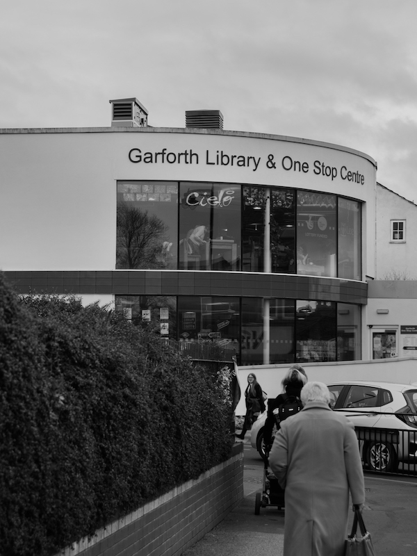 Library Cafe - Garforth Library