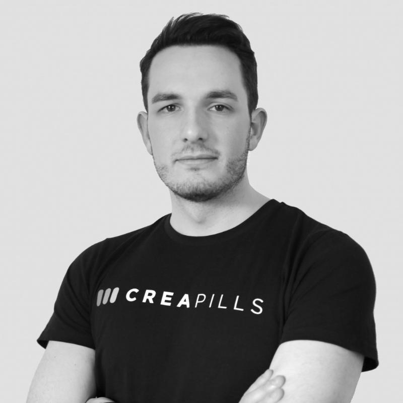 Viralité, buzz… Maxime Delmas aime le contenu qui touche et qui marque. Fondateur du média Creapills …