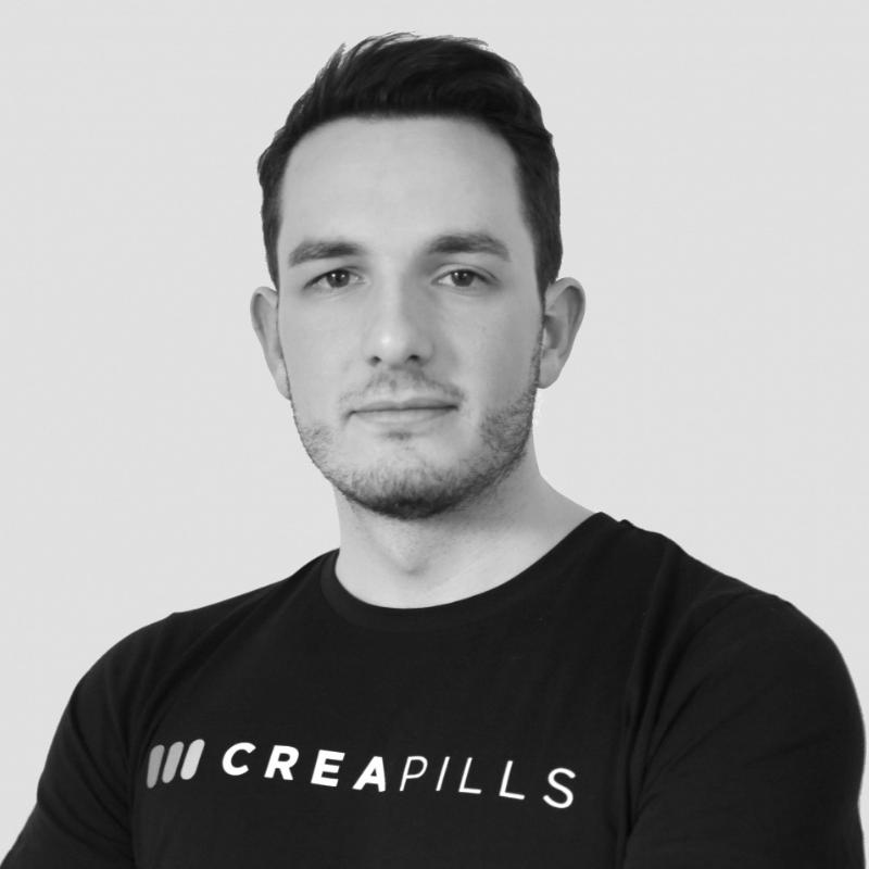 Maxime Delmas  Founder   @Creapills