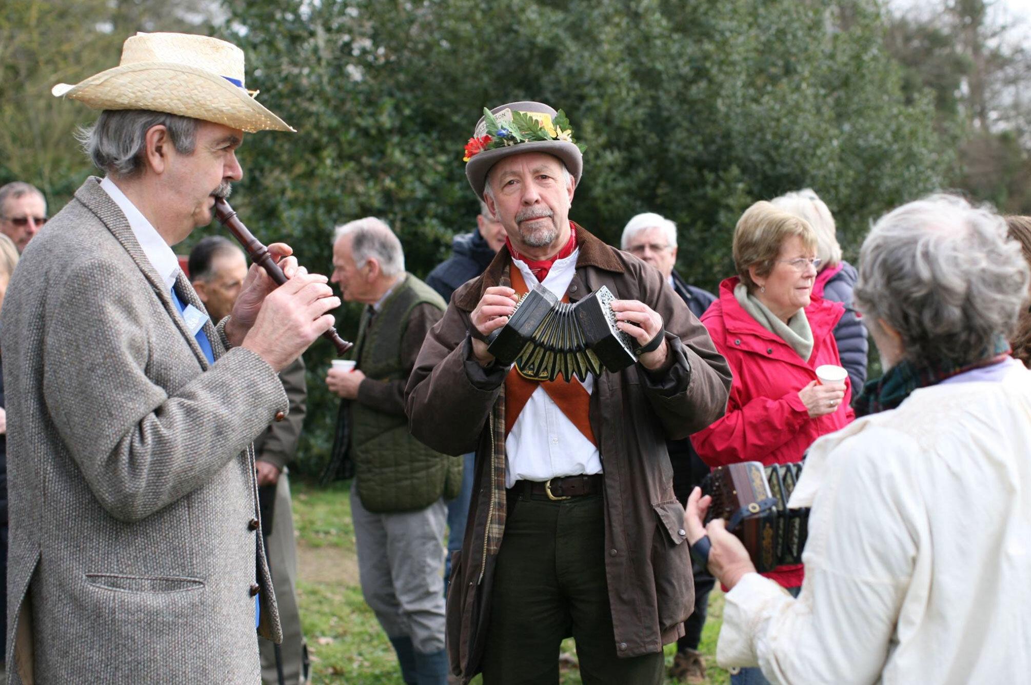Sussex Folk musicians, Binsted