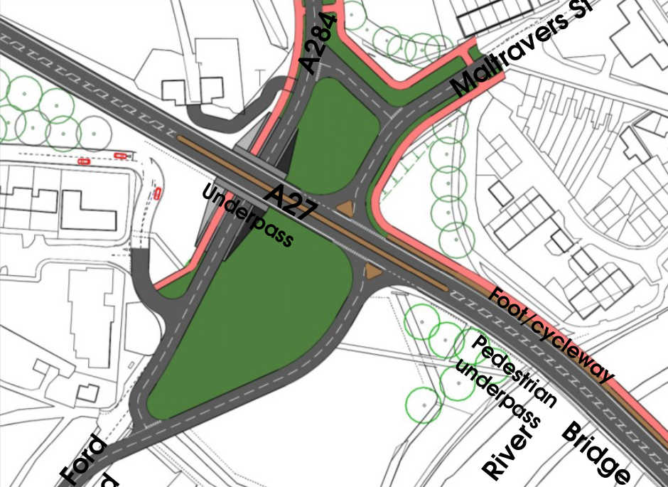 Ford Roundabout potential layout by City Infinity