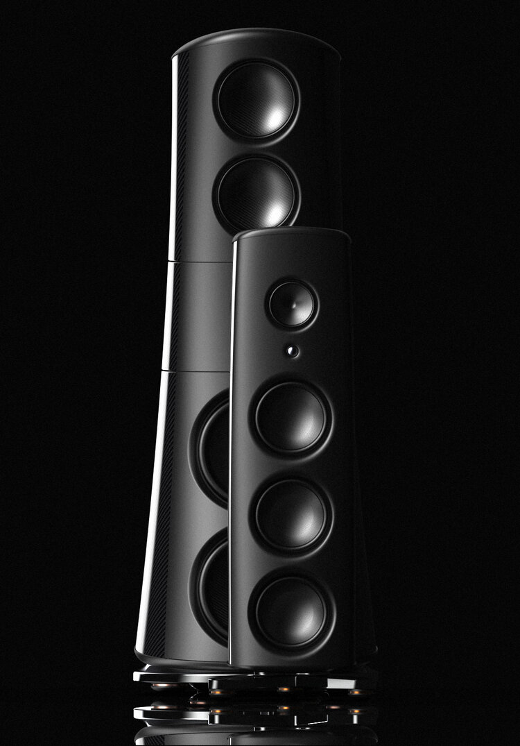 Magico M9 behind the M6