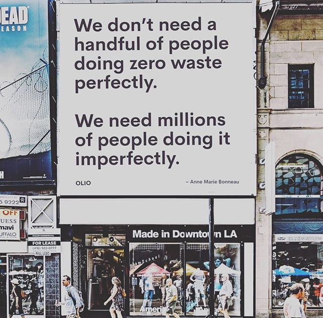 Small changes, BIG impact ♻️✨ . . . #zerowaste #cleanplanet #togetherwecan #bigchange #impact #inspire #dobetter #protectourplanet #sustainability #consciousconsumer #dogood #nowaste #eco #enviornment #plasticwaste #savetheearth #ecofriendly #singleuseplastic #mindful #makeadifference #keepgoing #sharemorewasteless 📸 @olio_ex