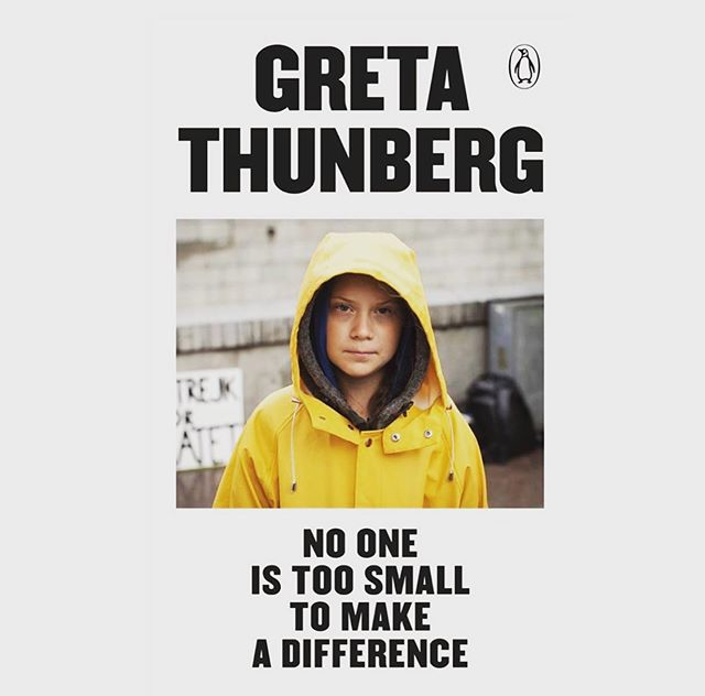 "Our team can't wait to get our hands on @gretathunberg newly released book, ""No One Is Too Small To Make A Difference."" All profits will go to charity ✨🙌 . . . #gretathunberg #changetheworld #climatechange #protectourplanet #consciousconsumer #stepup #jointhemovement #femaleaders #change #change #changeleader #makeadifference #book"