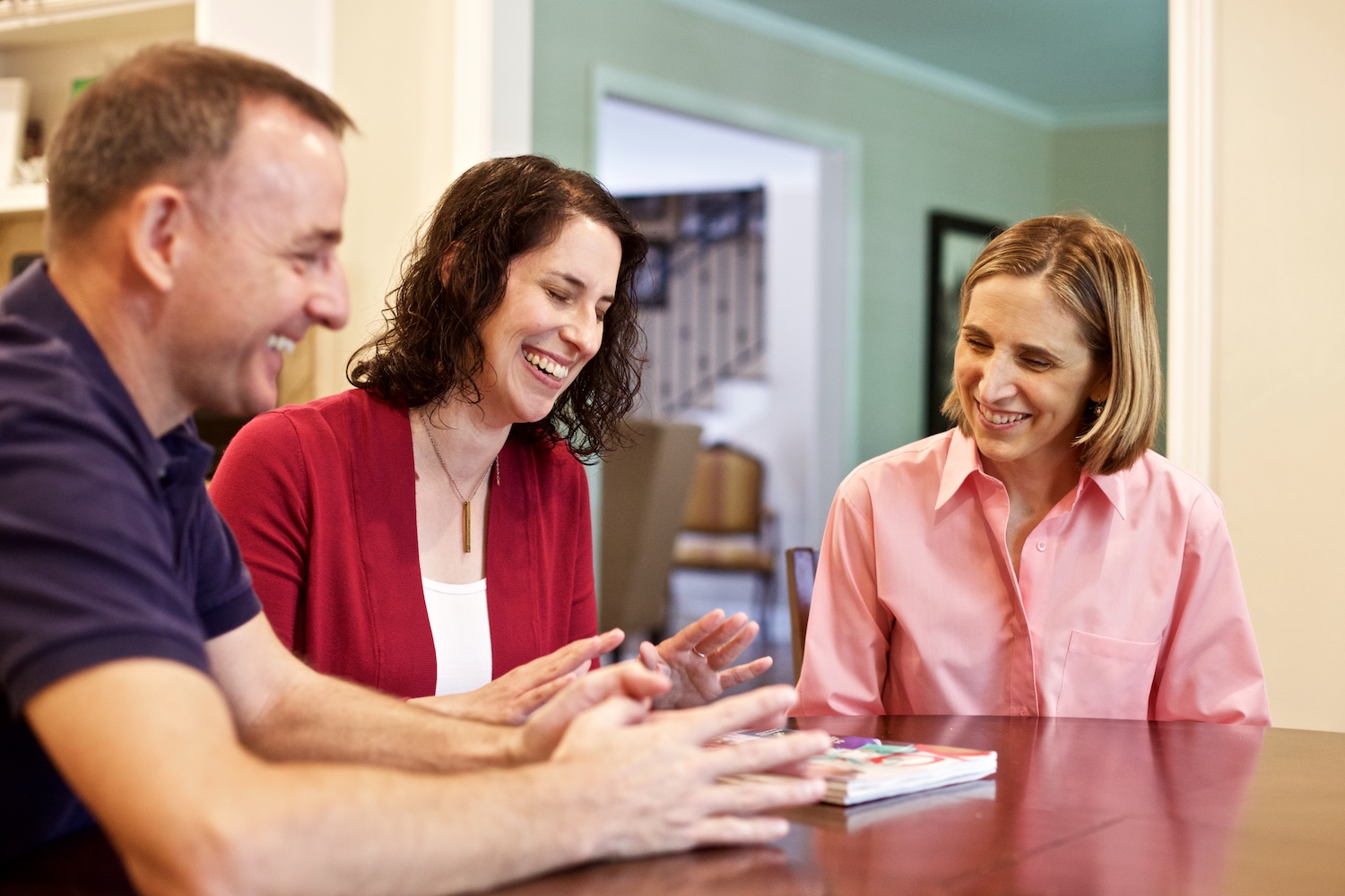 Rebecca and parents connect over challenges and share strategies