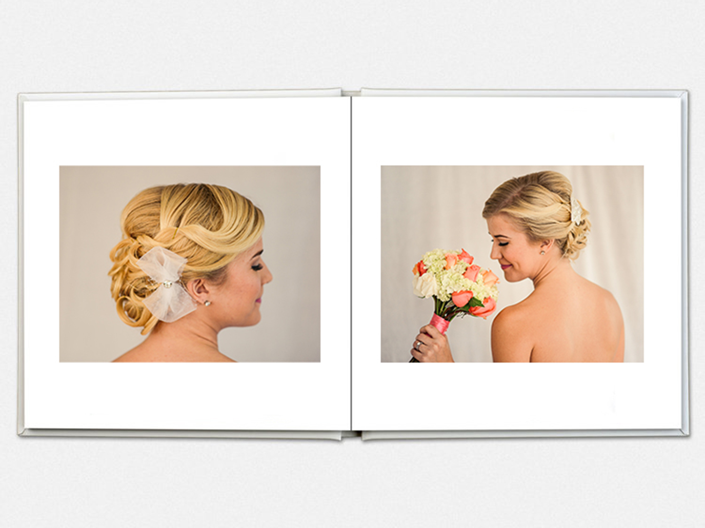 $1100 - 7x10 20 Spreads/40 PagesThe perfect keepsake from your wedding day that you'll be proud to display.