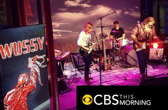 Wussy on CBS This Morning