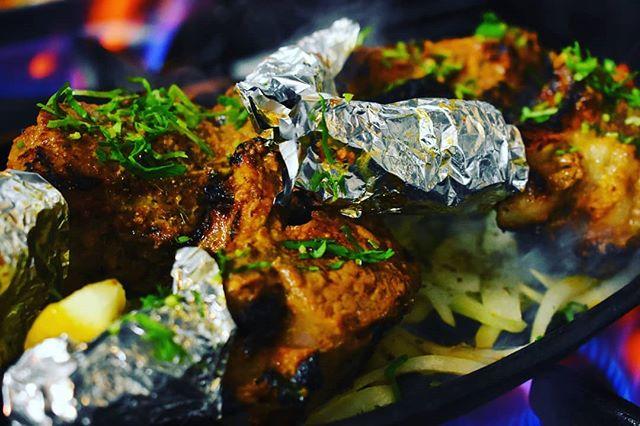 Our Tandoori Lamb Chops are made fresh in the Tandoor Oven #noorjahan #restaurant #noorjahan2 #london #lancastergate #lamb #chops #lambchops #food #photography #indianfood #indiancuisine