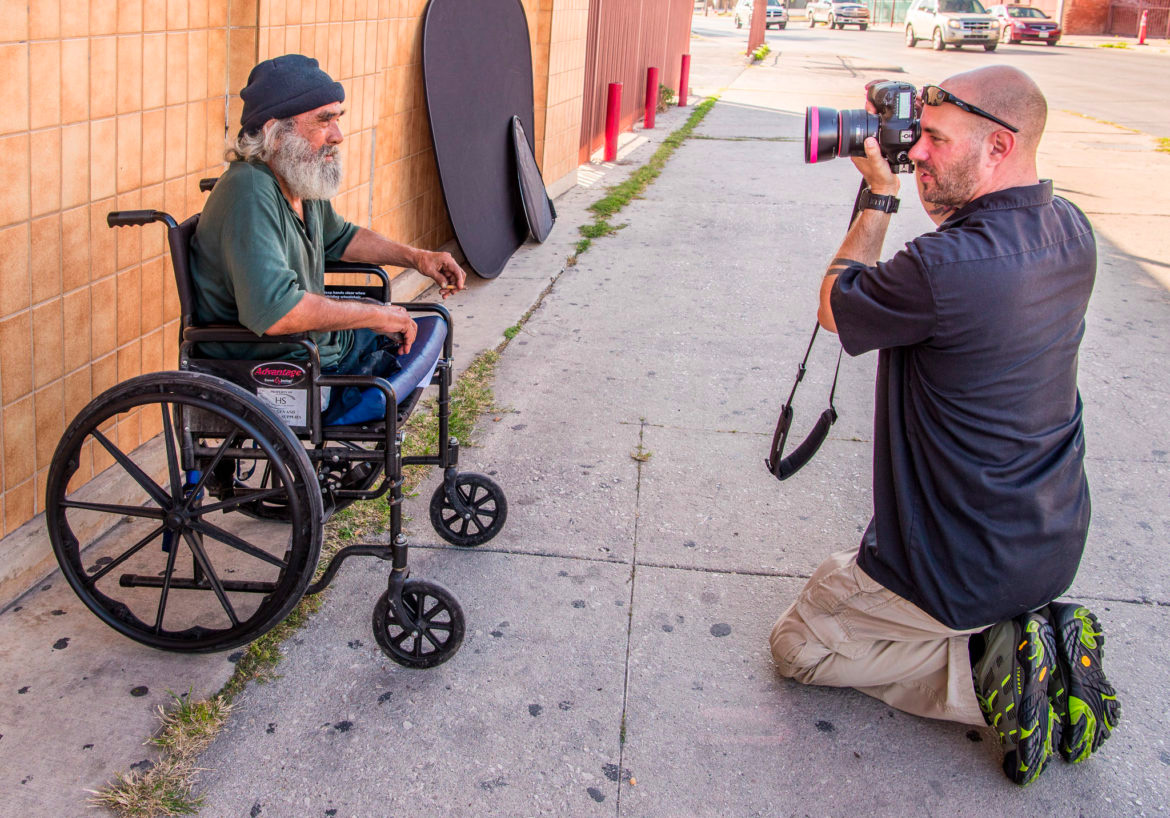 The Rivard Report - For Ex-SWAT Cop, Photography Reveals Humanity in the Homeless