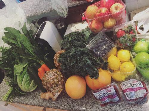 Fruits for Juice Detox
