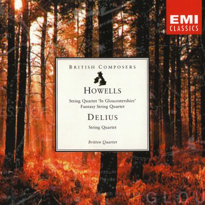 DELIUS AND HOWELLS: STRING QUARTETS   Released: November 1996  Performer: The Britten Quartet  Composer: Frederick Delius & Herbert Howells