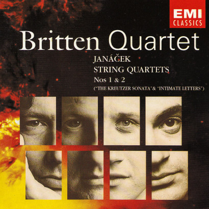 JANÁČEK: STRING QUARTETS ETC   Released: May 1993  Performer: The Britten Quartet  Composer: Janáček