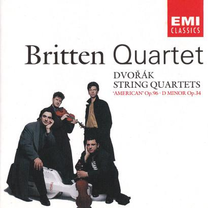 DVOŘÁK: STRING QUARTETS, OPP. 96 & 34   Released: May 1992  Performer: The Britten Quartet  Composer: Antonín Dvořák