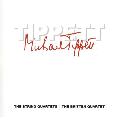 TIPPETT: STRING QUARTETS NO. 1 & NO. 2   Released: September 1991  Orchestra: The Britten Quartet  Composer: Sir Michael Tippett